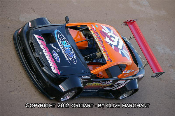 Open Hot Rods, Foxhall Stadium Ipswich, 16 june - Clive Marchant