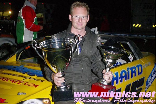 2013 Thunder 500 & Nick Thomas Memorial Trophy, Foxhall Stadium, Ipswich 22 June 2013 - Martin Kingston