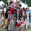Powwow Dancers at Grand Entry, Friday evening