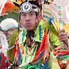 Powwow Bustle dancer.