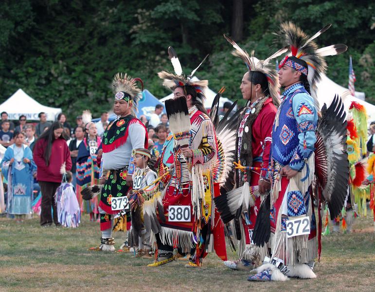Dancers at Grand entry.