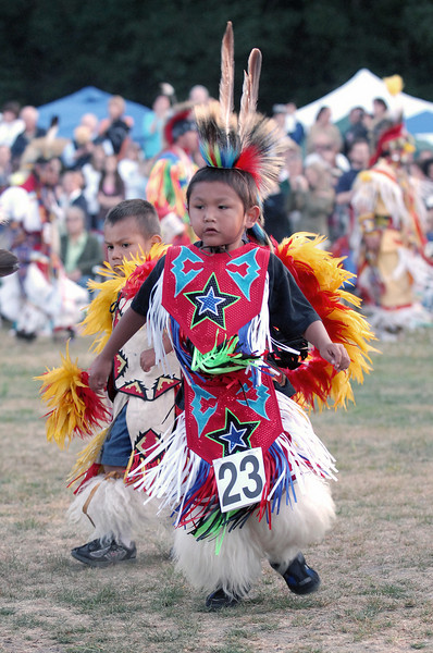 Powwow Dancers at Grand Entry