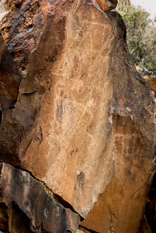 Petroglyphs, California