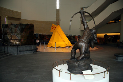 This and the next 11 images are from the Smithsonian Museum of the American Indian in Washington, D.C.