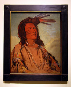 Painting by George Catlin