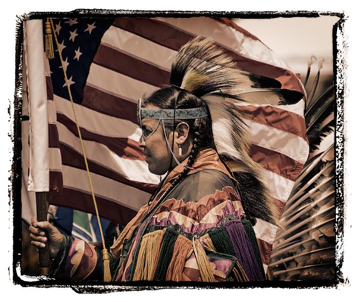 2008 Malibu Chumash Intertribal Powwow. Dancer: Dean Webster, Ojibwa, Grass Dancer.