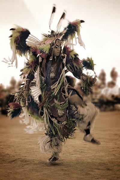Men's Fancy Dancer, 18th Thunder and Lightning Pow wow, Morongo.
