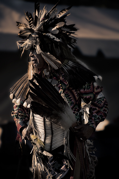 11th Annual Chumash Intertribal Powwow, 2009. Dancer: Pete Zavala, Northern Traditional.