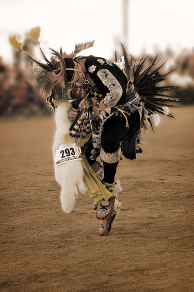 Chicken Dancer, 18th Thunder and Lightning Pow wow, Morongo.