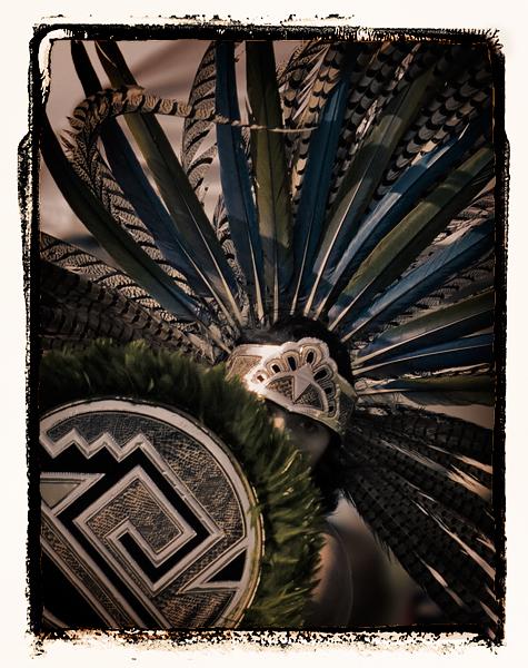 Aztec Dancer, 2008 Malibu Chumash Intertribal Powwow.