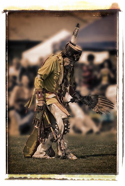 2008 Malibu Chumash Intertribal Powwow. Dancer: Saginaw Grant, Sac/Fox, Southern Straight Dancer.