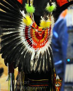 Powwow Bustle