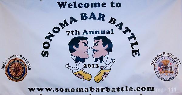 2013 Sonoma Bar Battle
