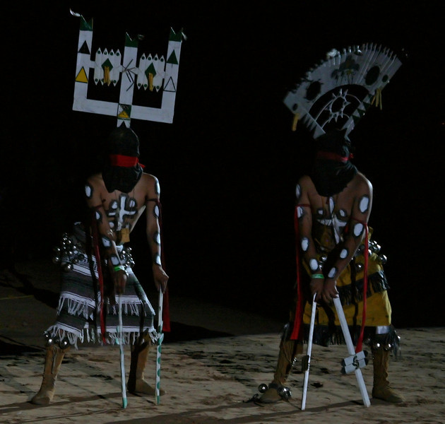 White Mountain Apache dancers