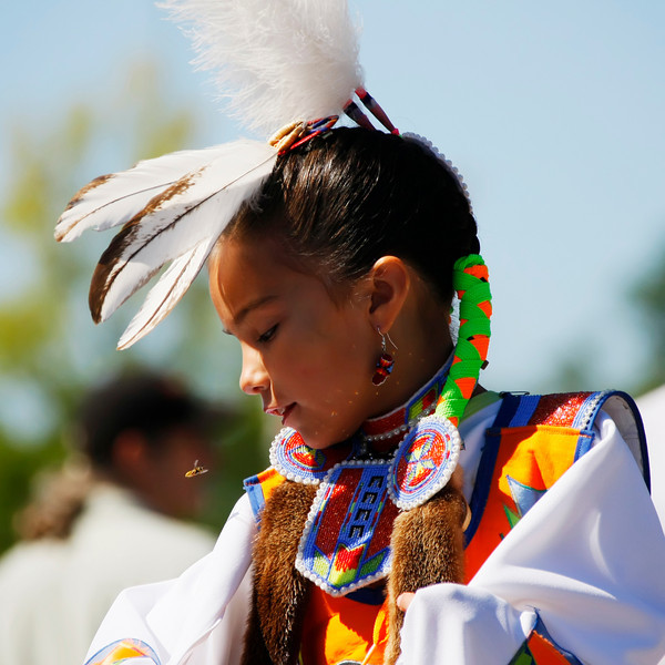Bree Bdzwawka, (2007). Bree's Indian Tribal linage is: Menominee, Bad River Chippewa, Oneida and Ho-Chunk.  Image by: Jim.Wilson