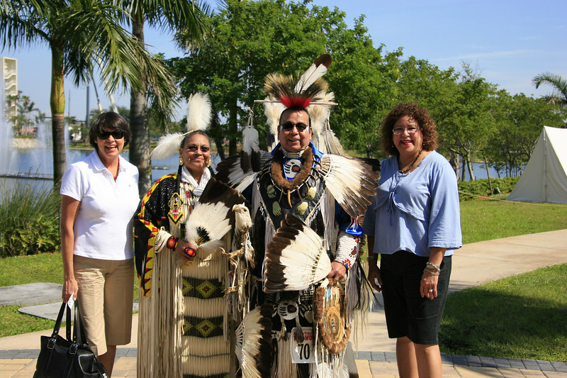 Seminole Indian 36th PowWow Hardrock Resort 10-Feb-2007 - (92)