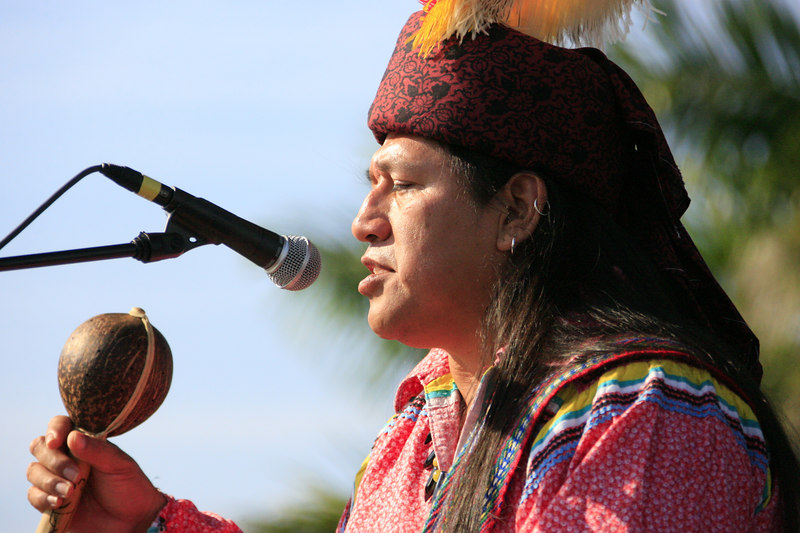 Seminole Indian 36th PowWow Hardrock Resort 10-Feb-2007 - (334)