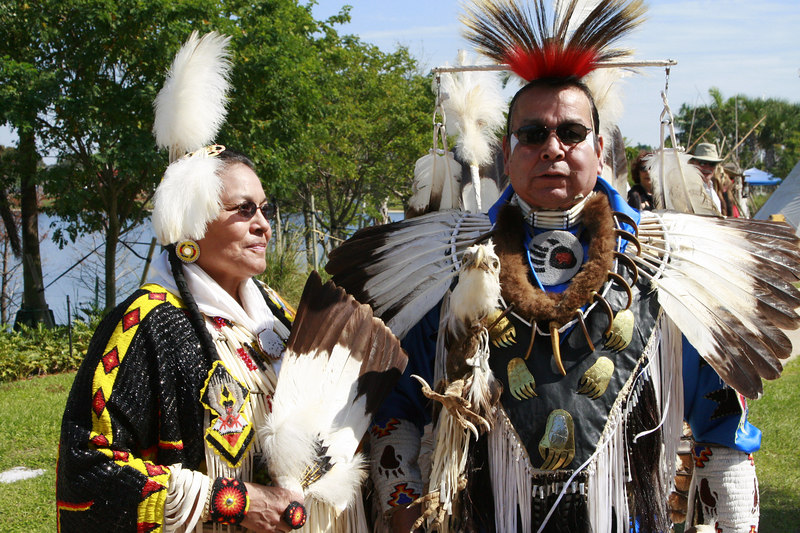 Seminole Indian 36th PowWow Hardrock Resort 10-Feb-2007 - (88)