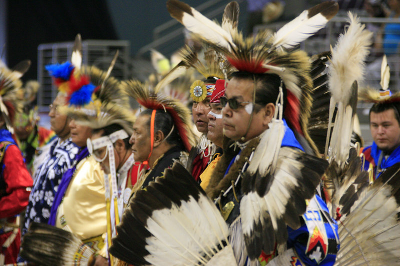 Seminole Indian 36th PowWow Hardrock Resort 10-Feb-2007 - (169)