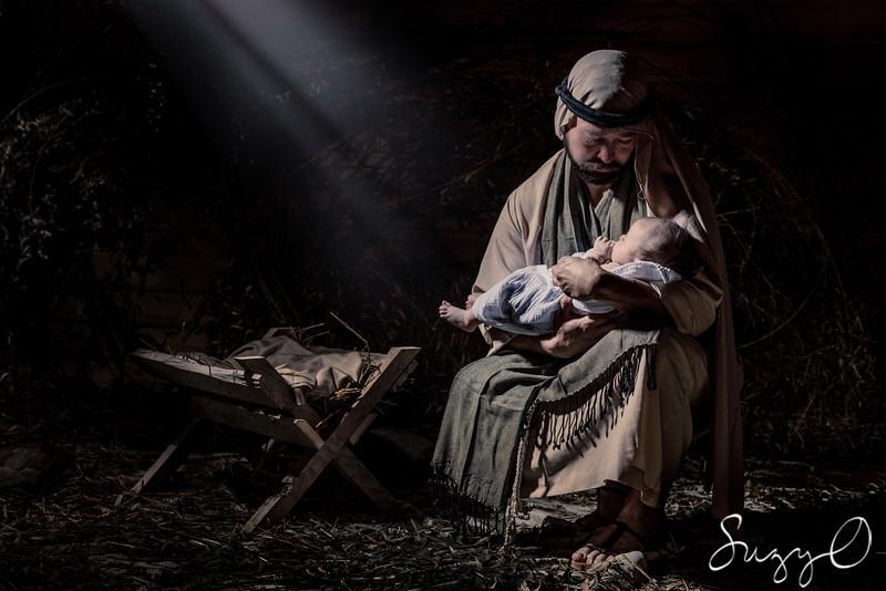 Joseph's love for baby Jesus