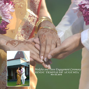 Natrajan Gupta Engagement Album