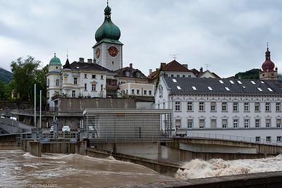 Hochwasser Waidhofen/Ybbs Juni18