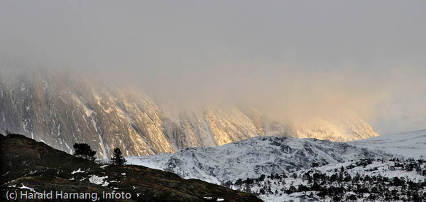 Februarsola tilbake i Efjord.