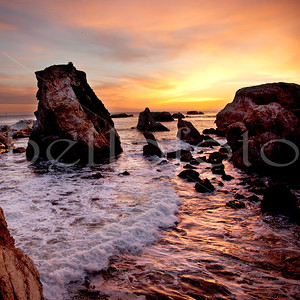 """Perfect Peace"" - Shell Beach, California Coast"