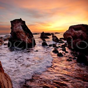 """Perfect Peace"" - Shell Beach, California Coast"