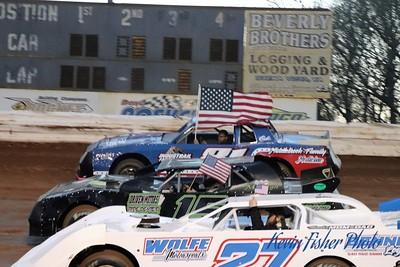 a) flag waving 025