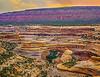 """""""Sunset over Sipapu Bridge,"""" Natural Bridges National Monument, Utah"""