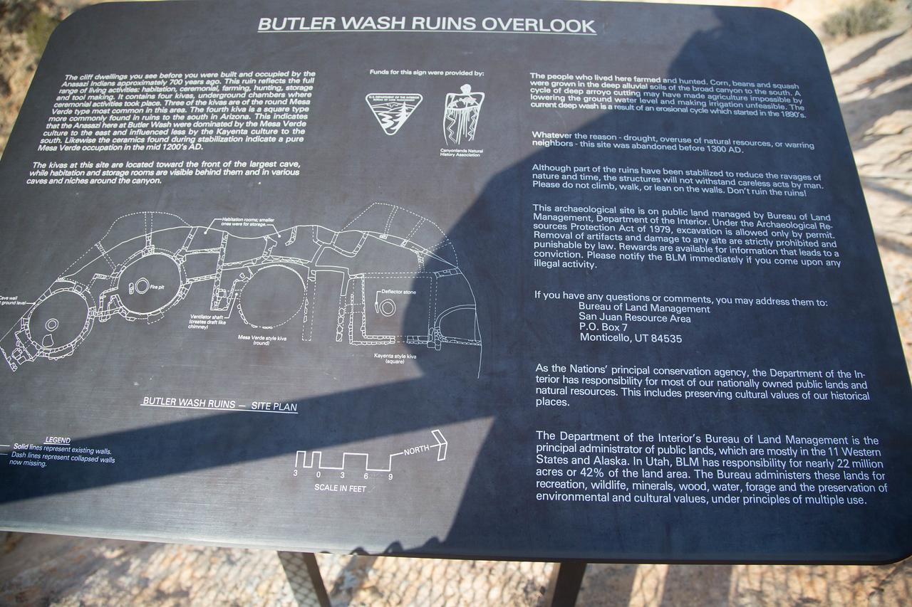 Butler Wash Ruins Az