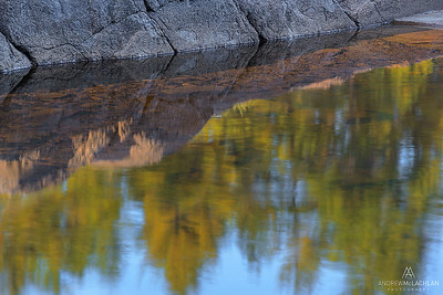 Reflections, Lake Travers, Algonquin Provincial Park, Ontario, Canada