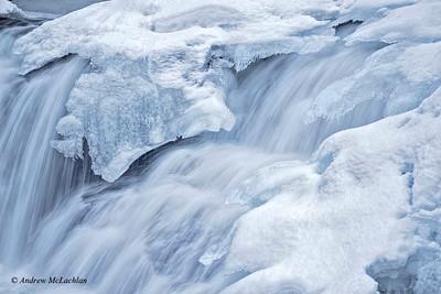 Skeleton River in Winter