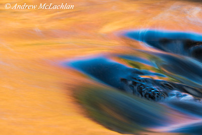 Autumn River Details in Muskoka, Ontario, Canada