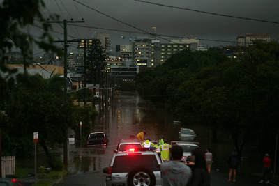 Floods and Blackout, Brisbane, Queensland, Australia; 20 May 2009.