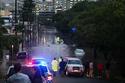 Floods and Blackout, Brisbane, Queensland, Australia; 20 May 2009.