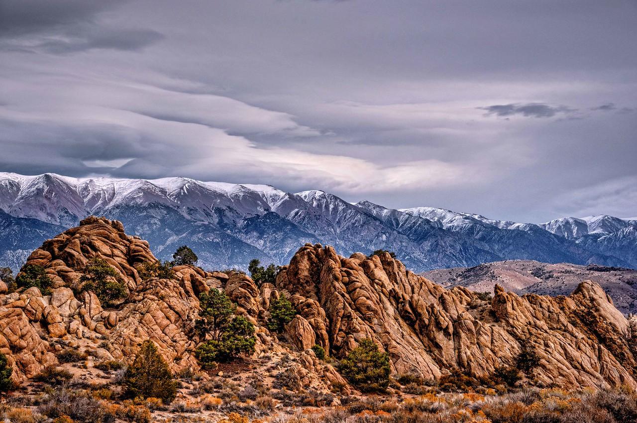 Nevada-California Boundary - Boundary Peak
