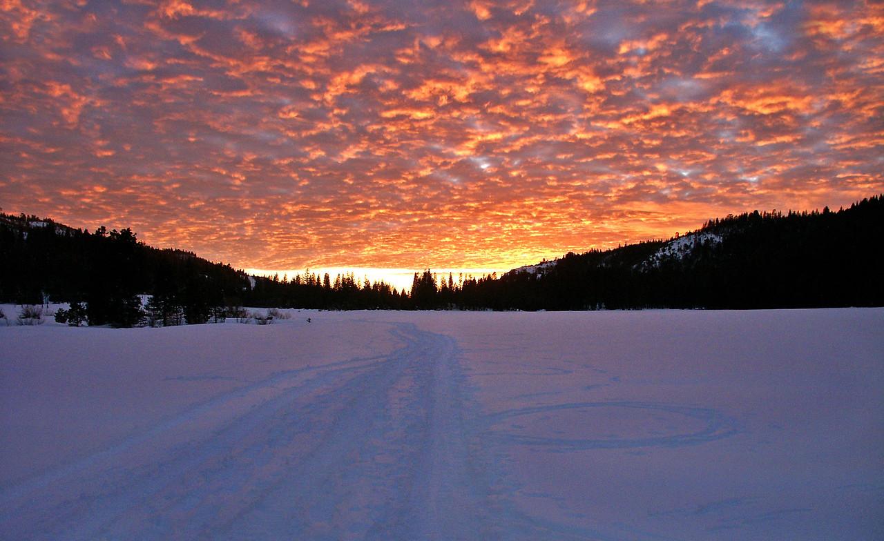 Bear Valley Sunset - Emigrant Gap, CA