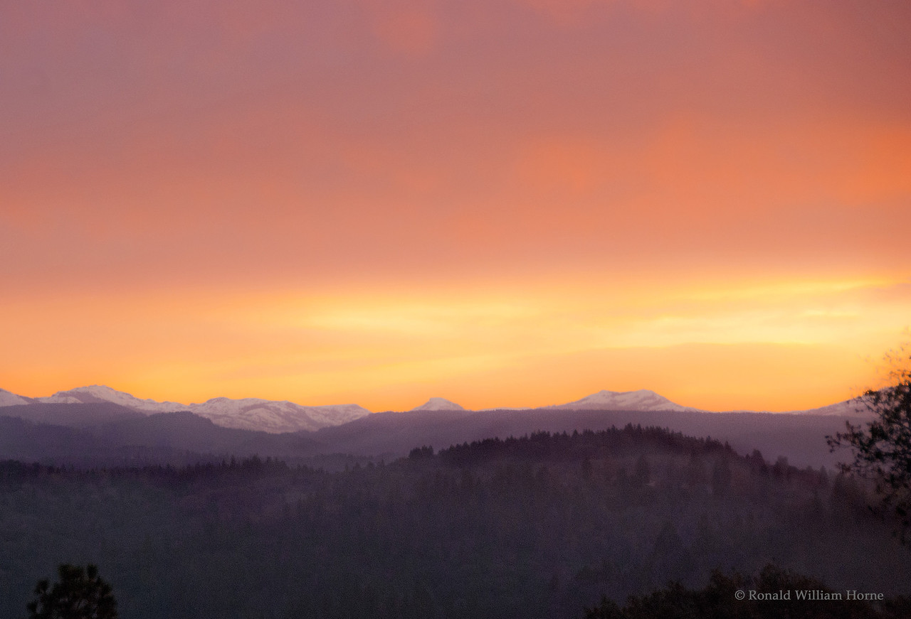 Emigrant Gap Sunrise