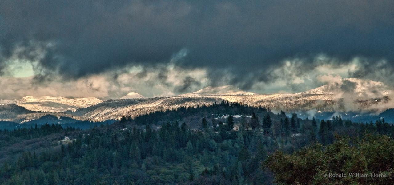 Winter Blankets The Gap - Emigrant Gap, CA