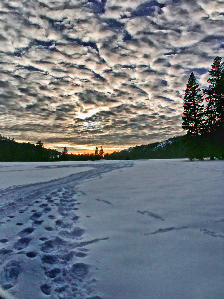Bear Valley Sunset II - Emigrant Gap, CA