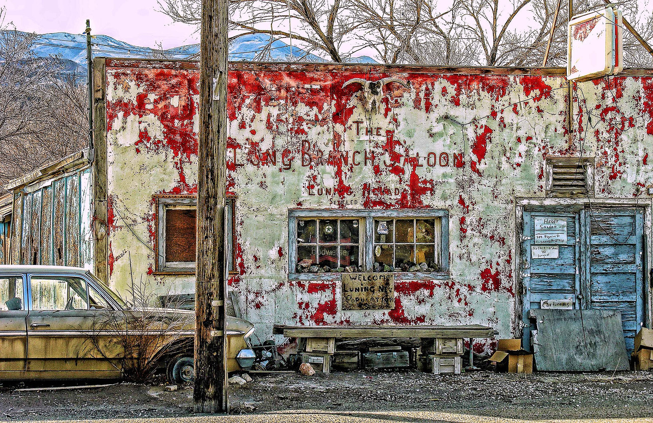 The Long Branch Saloon, Luning, Nevada - 2005