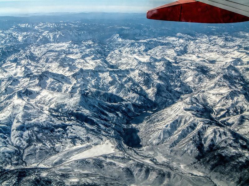Thomas Edison Lake, Sierra Nevada Mountains