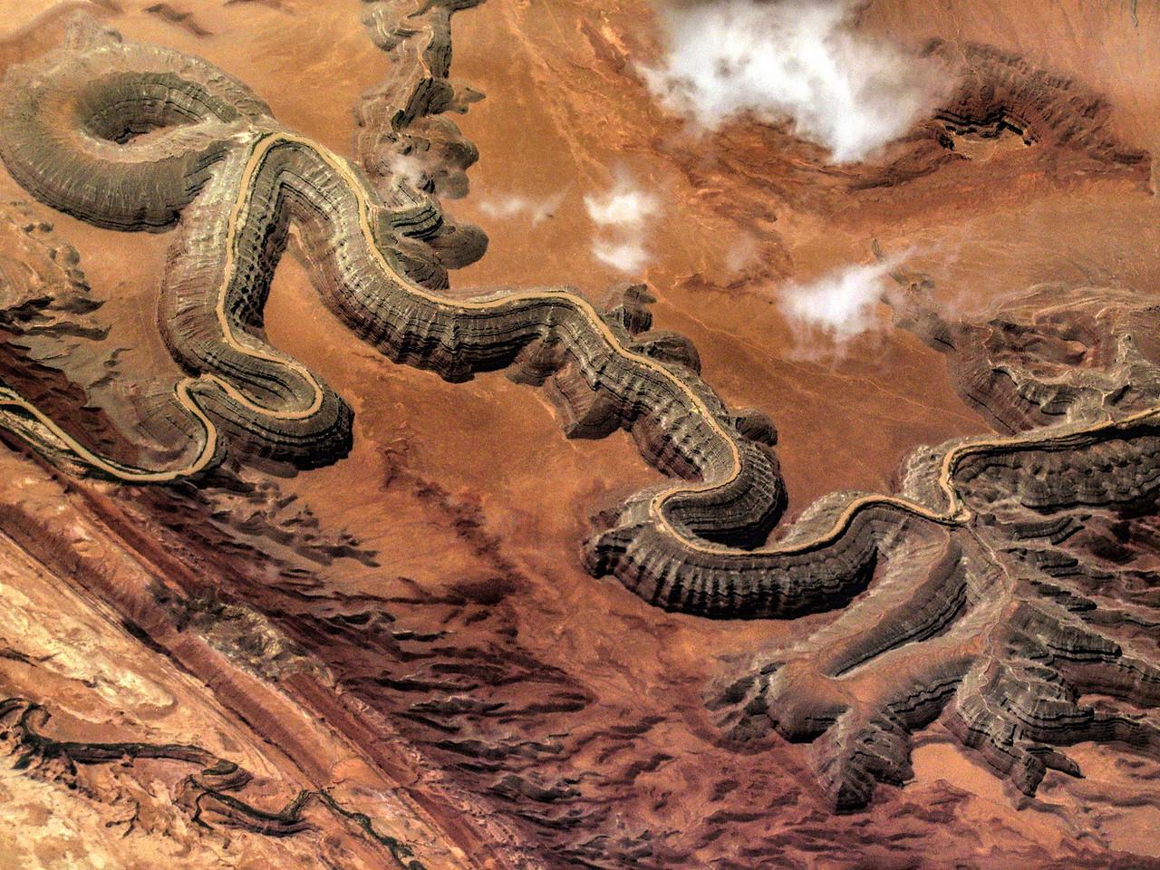 Grand Canyon Optical Illusion