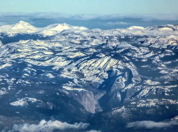 Yosemite Valley and Half Dome - Yosemite, CA