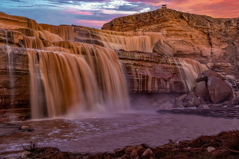 Grand Falls (aka Chocolate Falls), Northern Arizona