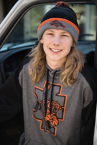 Seth Turnage Idaho Falls Tigers Hockey Senior Pictures
