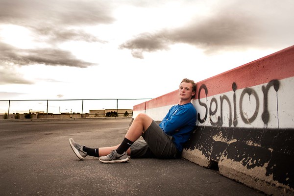 Justin Moore Hillcrest Knights Senior Pictures