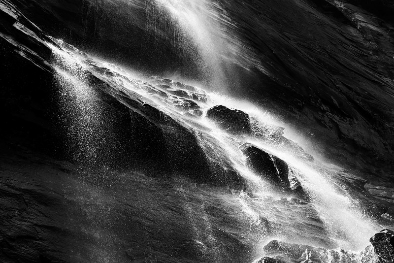 Black Waterfall #2